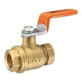 Brass Universal 400 ball valve screwed (lever)